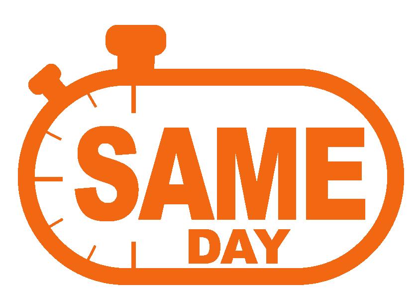 Same day stopwatch