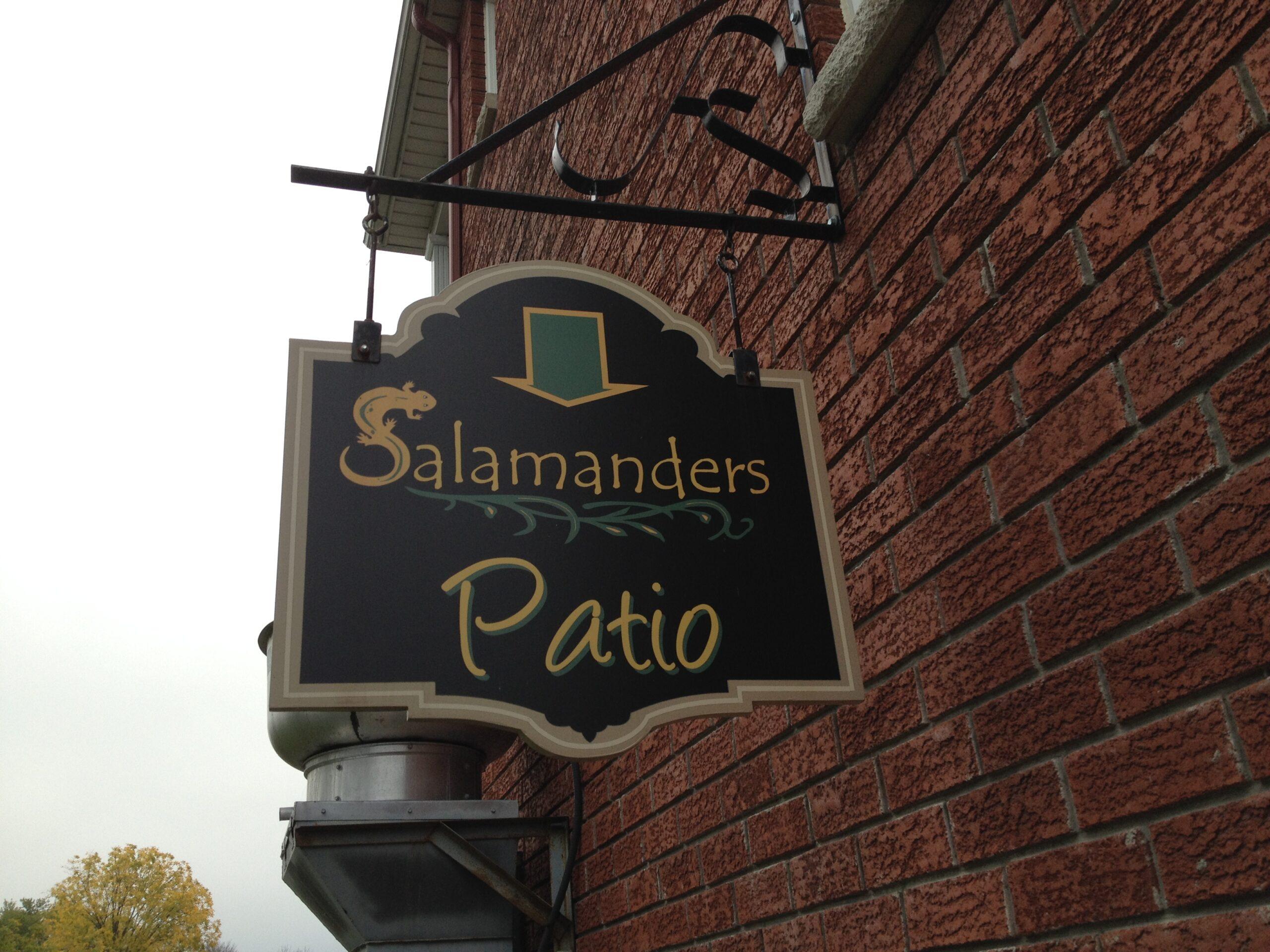 Salamanders-Patio