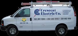 Crescent Electric Service Van