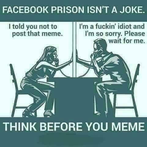 facebook jail ain't no joke