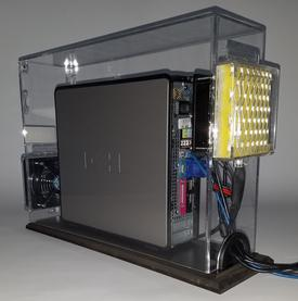 Computer Enclosure for Sterile Environment