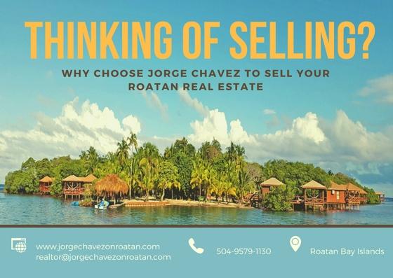 Selling in Roatan island