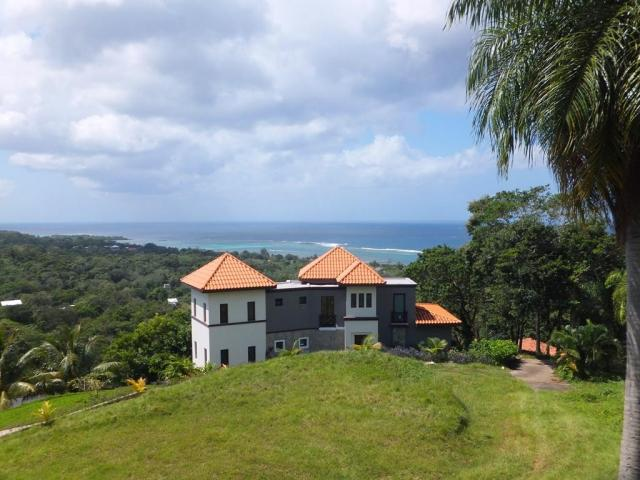 Property with ocean views