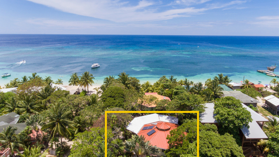 Vacation home in Roatan