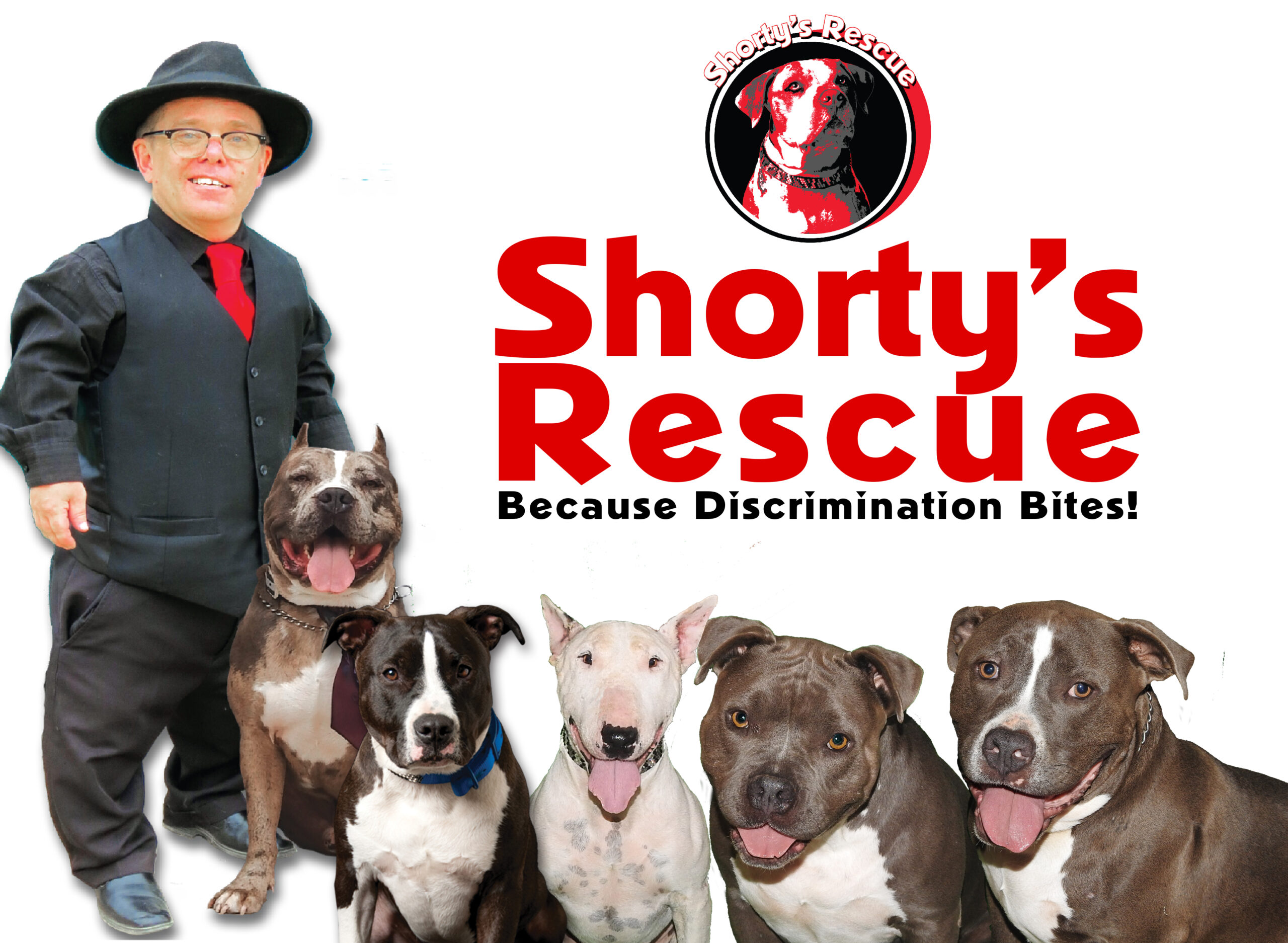 Shorty's Rescue - Because Discrimination Bites!