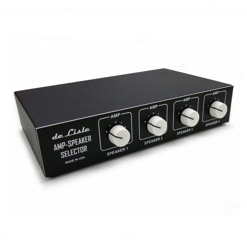 de Lisle Amp-Speaker Selector V2