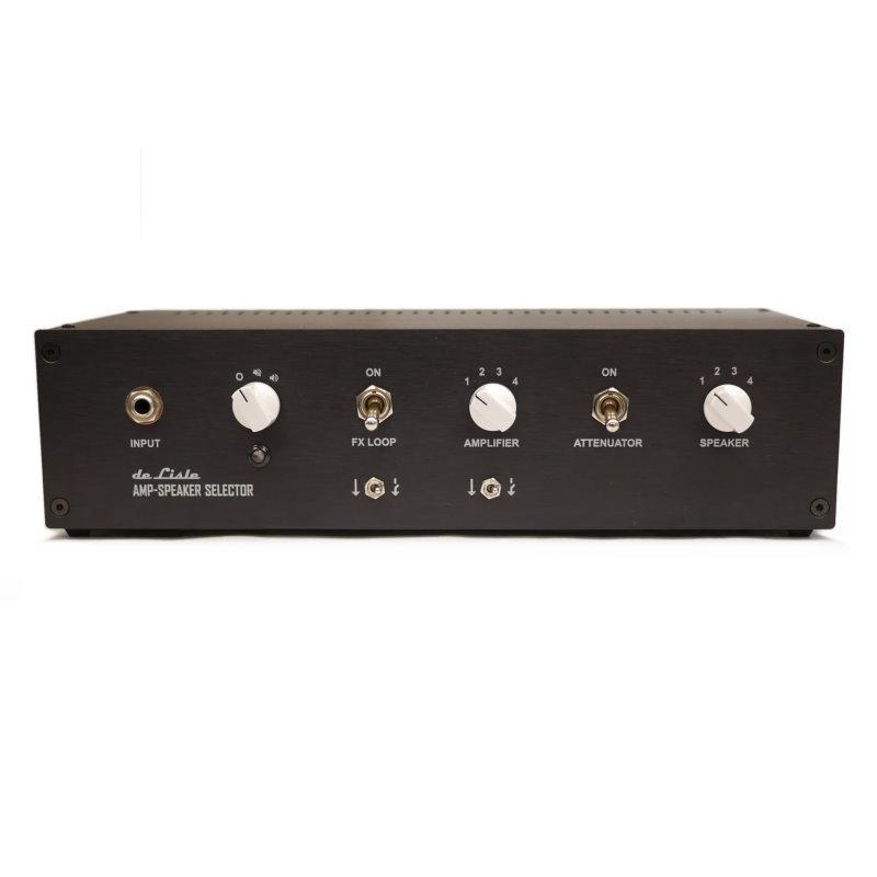 de Lisle Amp-Speaker Selector 4x4 Pro