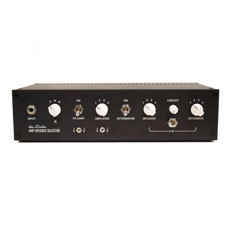 de Lisle Amp-Speaker Selector 4x4 Pro Plus