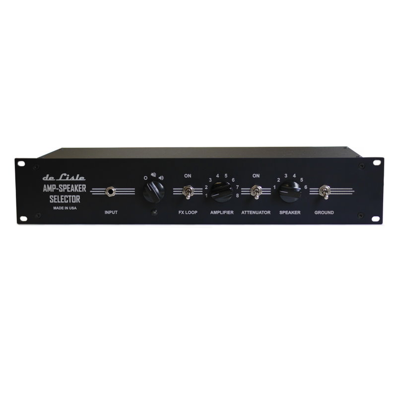 de Lisle Amp-Speaker Selector 8x6 Pro