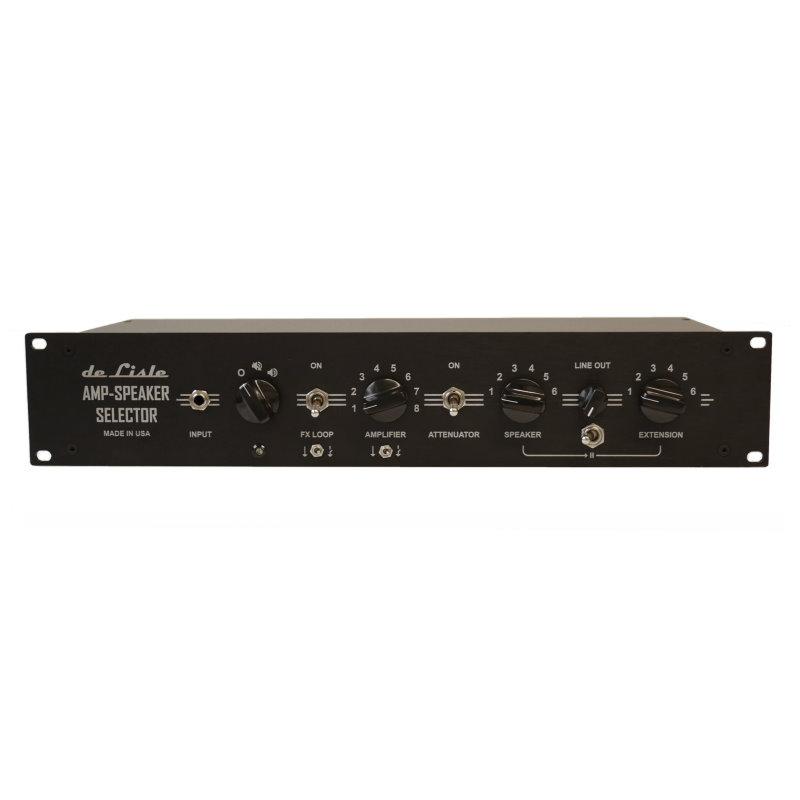 de Lisle Amp-Speaker Selector 8x6 Pro Plus
