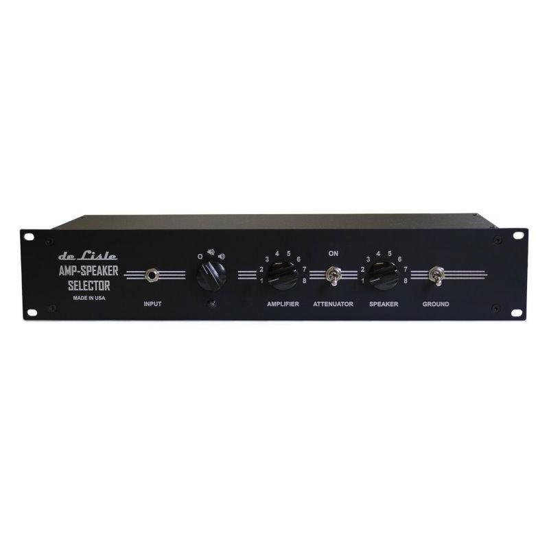 de Lisle Amp-Speaker Selector 8x8 Deluxe