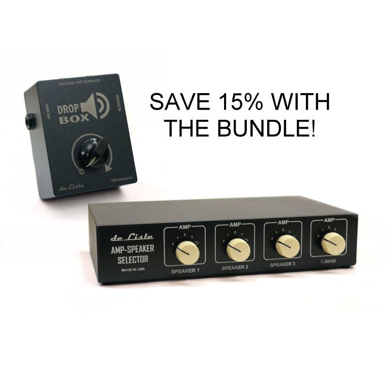 de Lisle Amp-Speaker Selector V3 with Loop