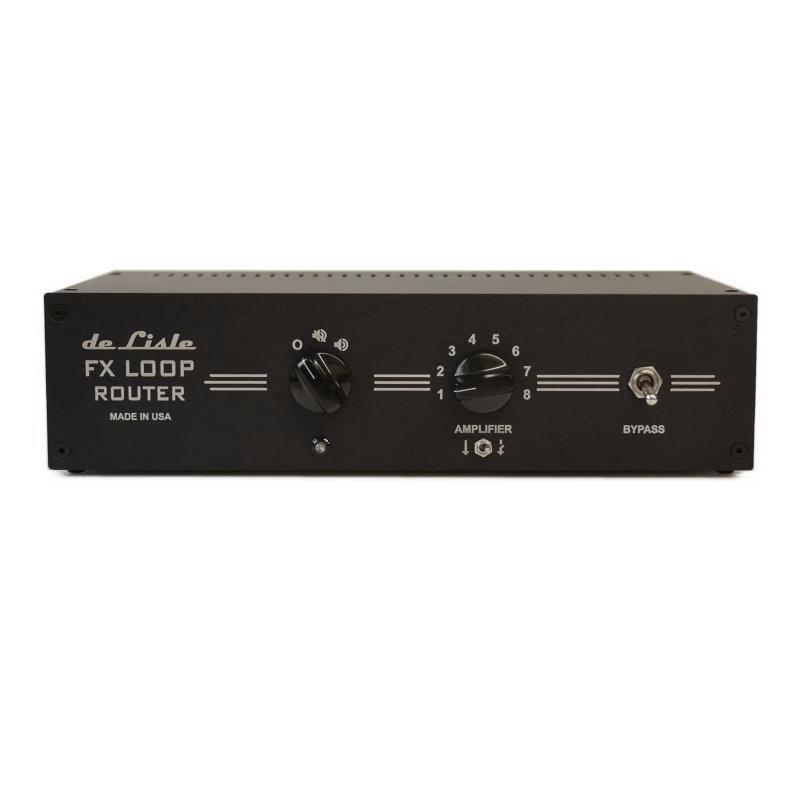 de Lisle FX Loop Router Switch