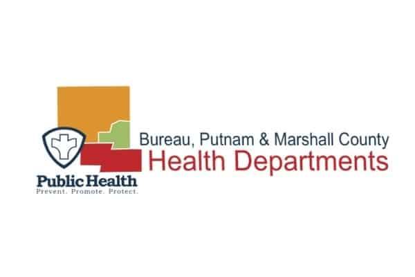 Bureau, Putnam & Marshall County Health Department Logo