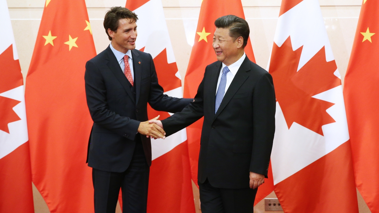 Trudeau China Elect Conservatives