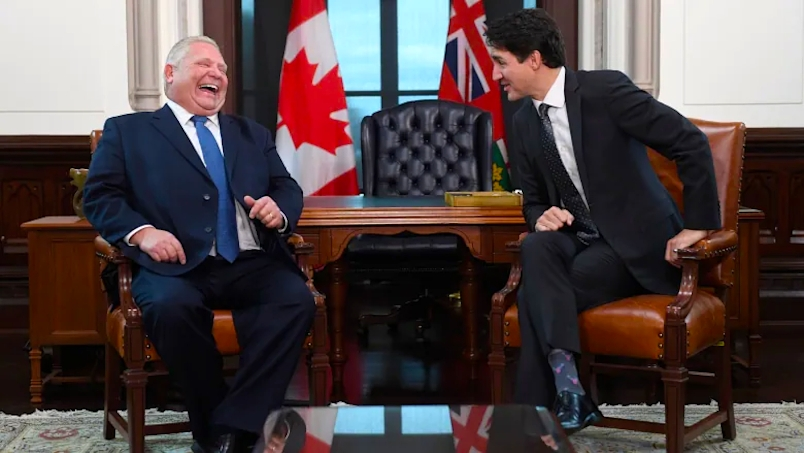 Doug Ford Justin Trudeau Elect Conservatives