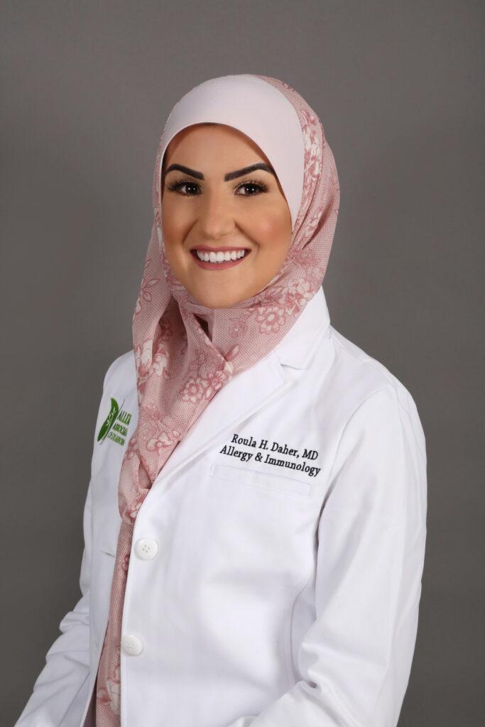 Dr Roula Daher AllergyAD