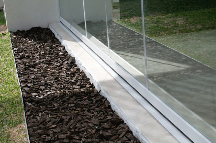 Glass Curtains lower profile