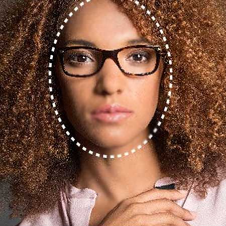 Oval Face Shape Eyeglasses