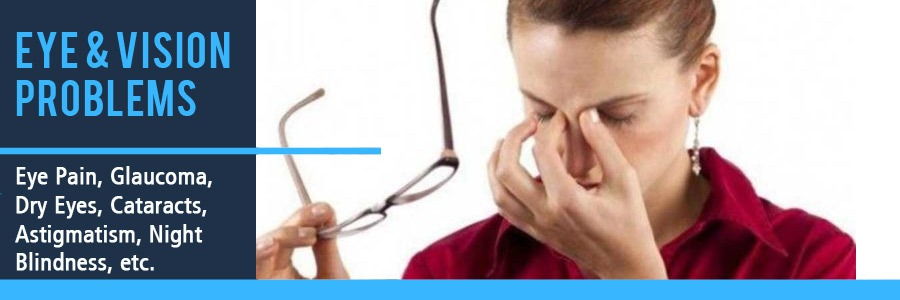 Eye and Vision Problems Blurry Astigmatism Cataracts Glaucoma