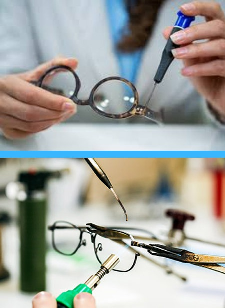 Frame Repairs and Adjustments at Wohl Optics Free