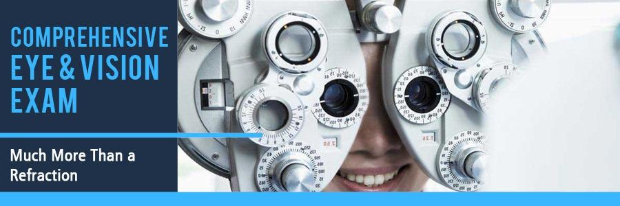 Optometrist Vision and Eye Exam at Wohl Optics