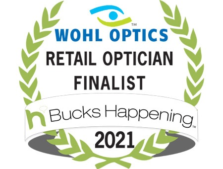 Bucks County Happening 2021Optician Finalist Wohl Optics