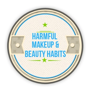 Beauty & Makeup Habits that can Harm Vision