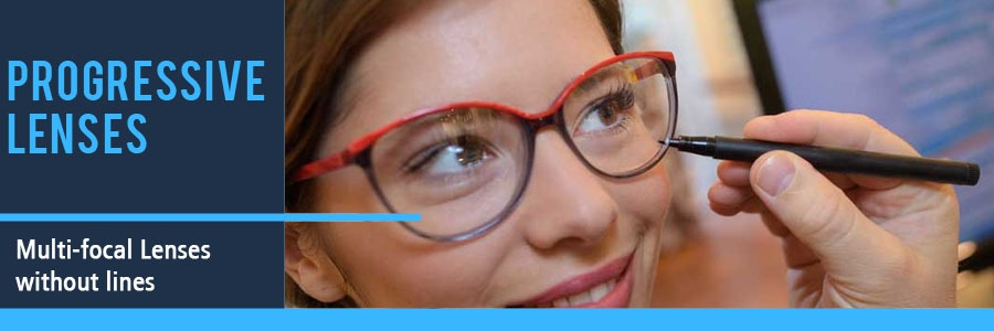 Progressive Lenses Multifocal without Lines