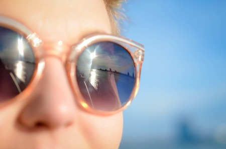 Sunglass protection for eyes