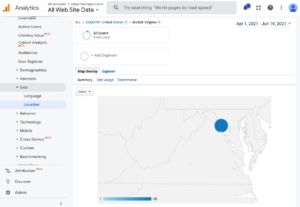Simplified Impact users in Virginia