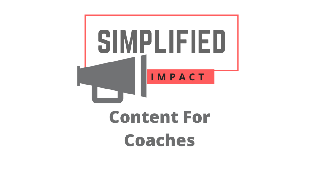 Content For Coaches Banner
