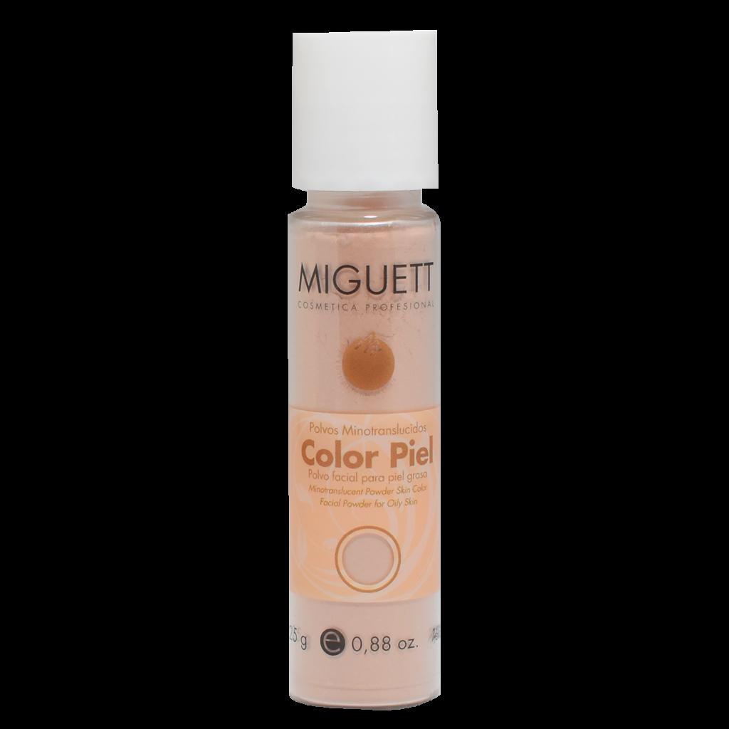 Polvos Minotraslúcidos color piel