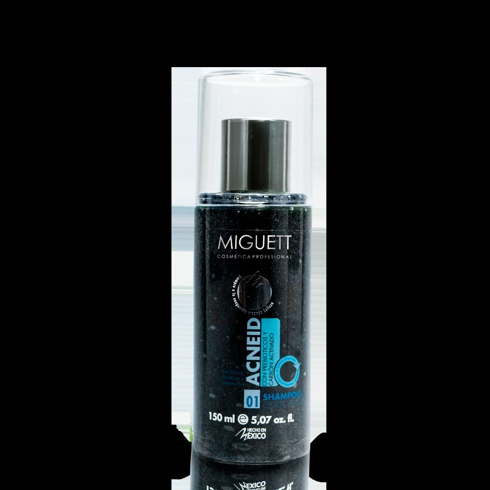Shampoo Acneid: prebioticos +C Activado