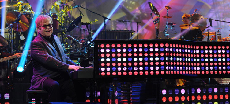 Million Dollar Piano Elton John East Coast Rocker