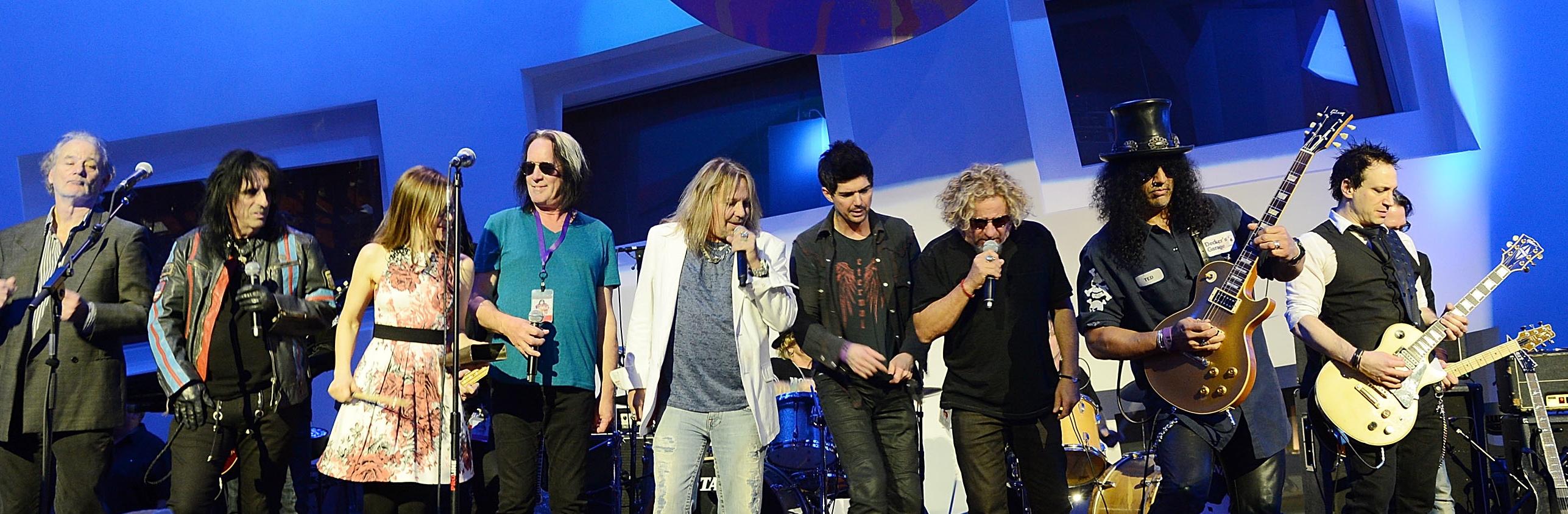Slash, Alice Cooper, Vince Neil