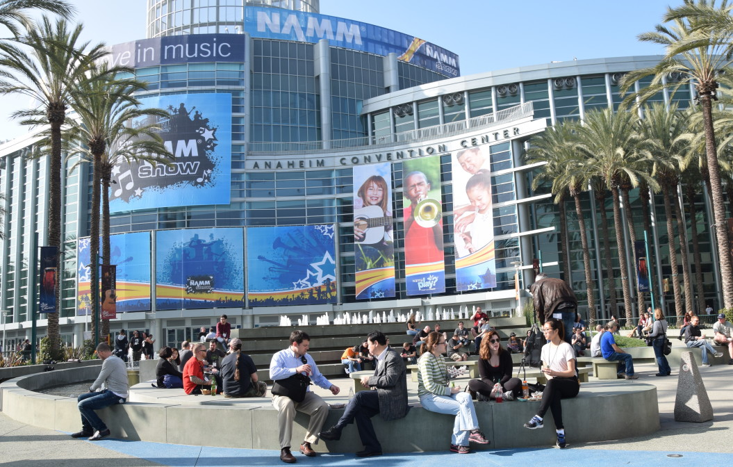 NAMM Show 2015 brought together innovators from the world over - Photo by Donna Balancia