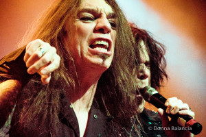 Scott Hill and Tony Harnell keep the energy high at Skid Row shows - Photo © 2015 Donna Balancia