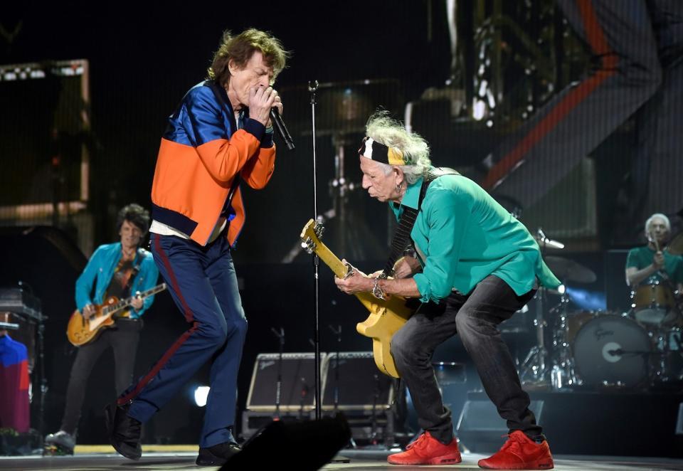 Rolling Stones by Kevin Mazur for Desert Trip East Coast Rocker