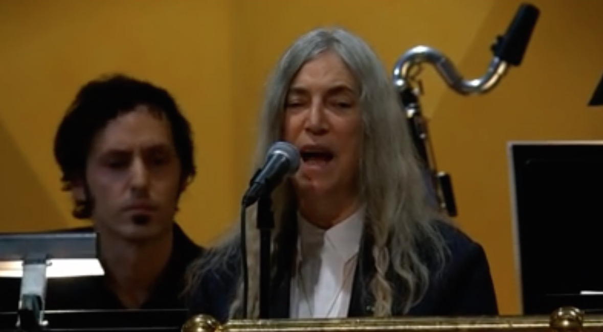 Patti Smith apologizes for a flub in the words to Bob Dylan's 'It's a Hard Rain's A-Gonna Fall' at Nobel gala CaliforniaRocker.com