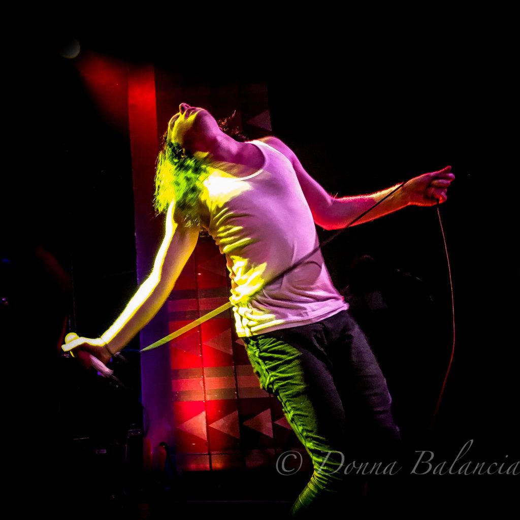 Frontman Mario Cuomo of The Orwells - Photo © 2017 Donna Balancia