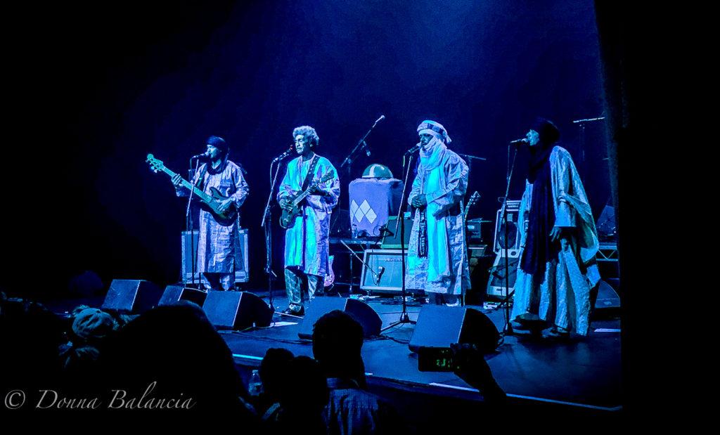Tinariwen: Beautiful music as a result of hardship - Photo © 2017 Donna Balancia