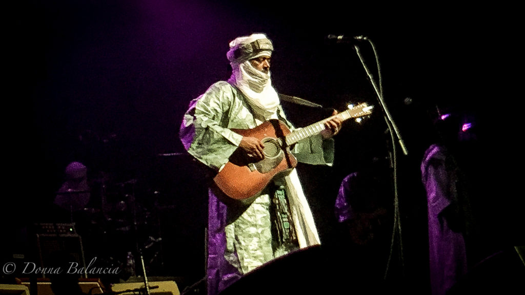 The band Tinariwen is known internationally - Photo © 2017 Donna Balancia
