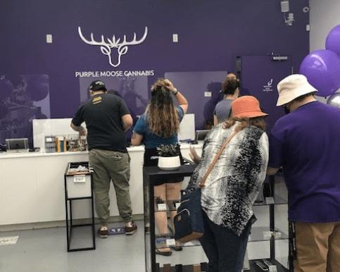Purple Moose Cannabis best cannabis weed dispensary in Oshawa