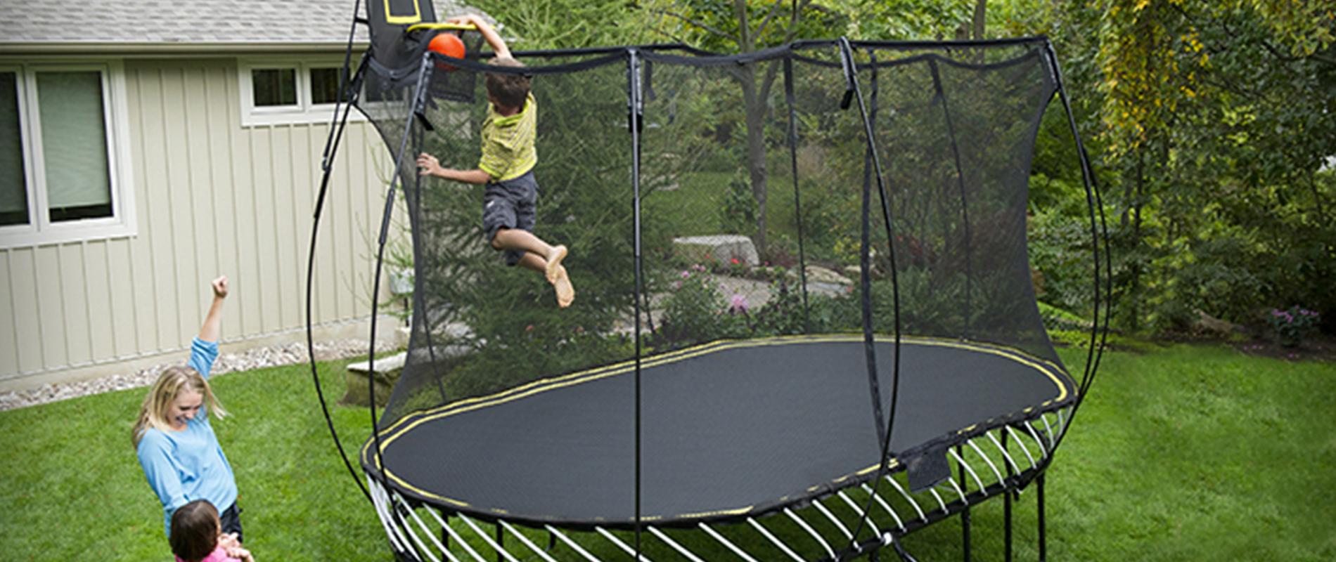 best oval trampoline
