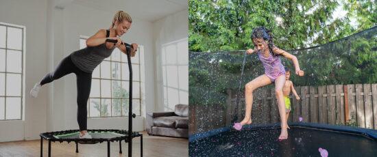 best trampoline tricks
