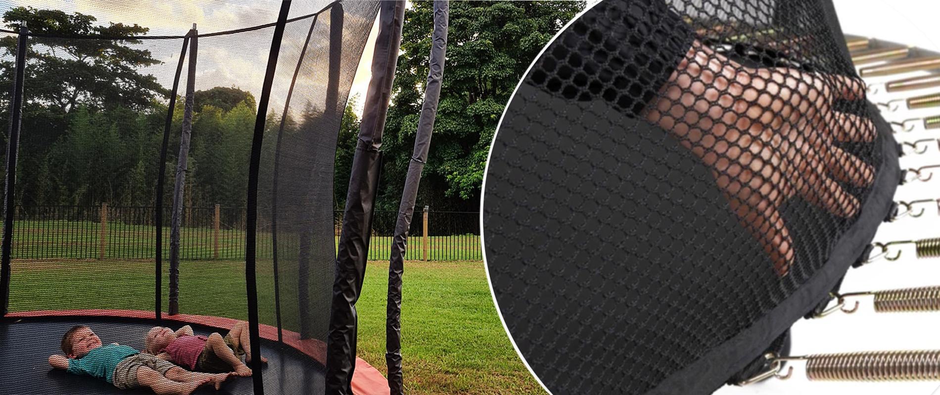 safest trampoline for kids