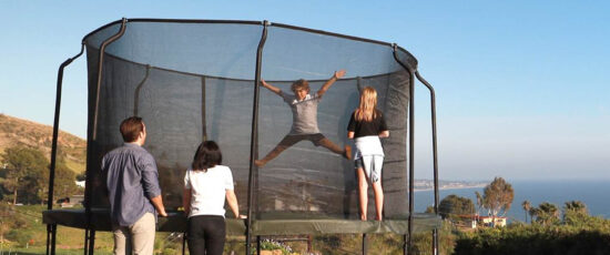 trampoline activities