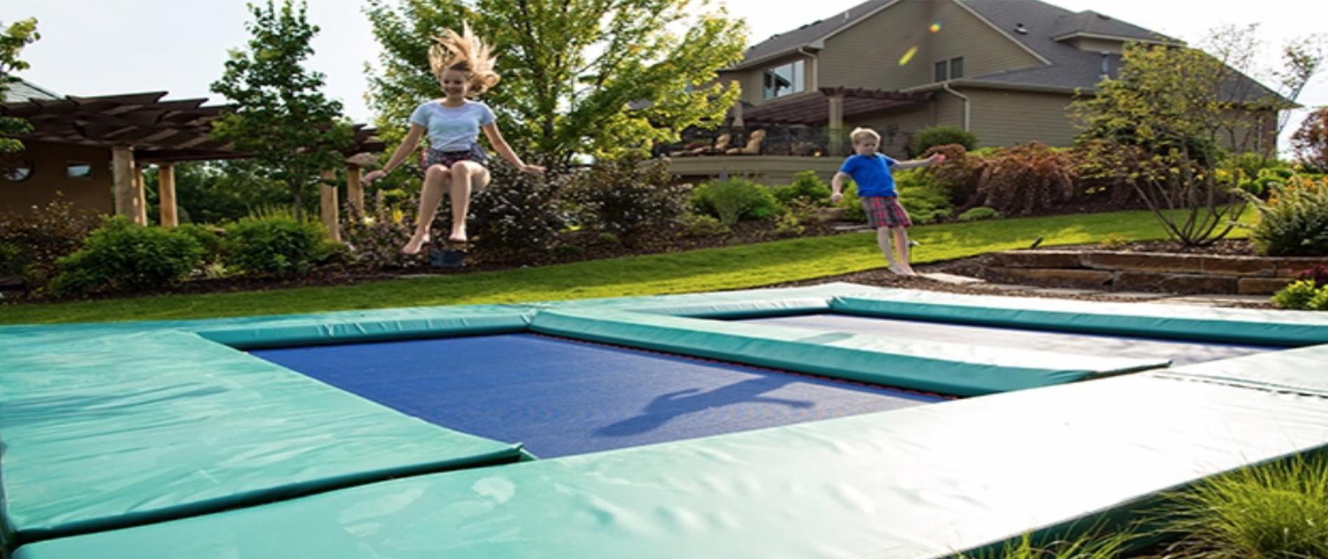 what is ground trampoline