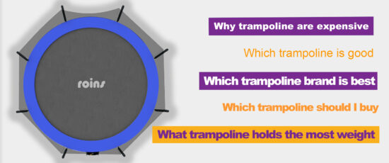 why trampoline is good